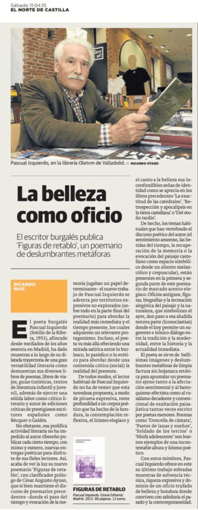 El Norte de Castilla 11/4/2015